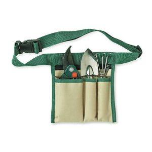 Set de jardinería con cinturón