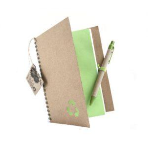 Cuaderno ecológico con semilla
