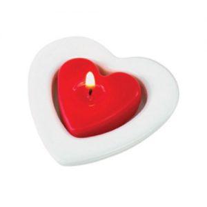 Set de velas Corazón