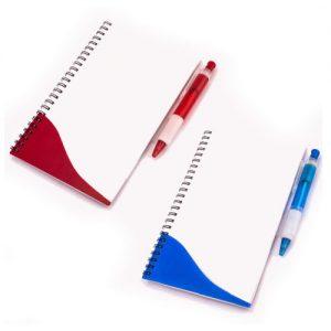 Cuaderno tapas Trans con lápiz