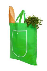 Bolsa ecológica plegable con bolsillo