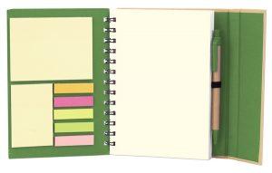Cuaderno ecológico cierre imantado