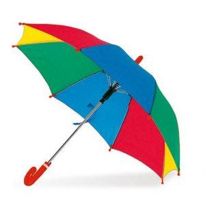 Paraguas multicolor Niño