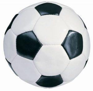 Pelota de Football blanco y negro